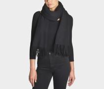 Schal Canada New aus schwarzer Wolle