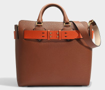 Belt Tasche Medium aus Tan Marais Leder