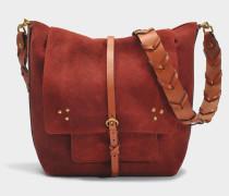 Django Tasche aus Rust Ziegenleder
