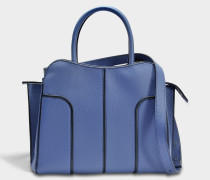 Sella Small Bag aus Jeans blauem Kalbsleder