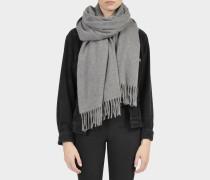 Canada Cash Schal aus grauem Kaschmir