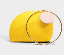 Eartha small Tasche aus Marigoldenem Kalbsleder