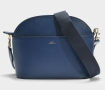 Gabrielle Tasche aus marineblauem Kalbsleder