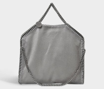 Handtasche Falabella 3 Chains Shaggy Deer aus Synthetikmaterial in Hellgrau
