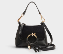 See by Chloé Joan Mini Tasche aus schwarzem Leder