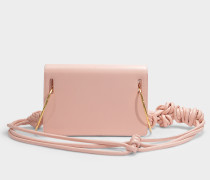 Handtasche Dia aus beigem Leder
