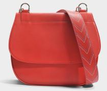 You Hobo Tasche aus rotem Kalbsleder