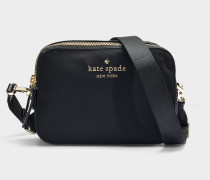 Watson Lane Amber Pouch in Black Nylon