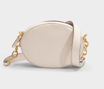 Tasche Gilly aus vanillegelbem Kalbsleder