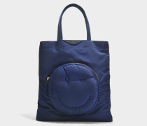 Shopper Chubby Wink aus Nylon in Marineblau