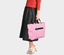 Sport Tote Bag aus Flamingo rosanem Nylon