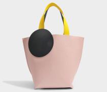Besa Tasche aus Puttyfarbenem Kalbsleder