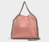 Mini Shopper Falabella Tote Shaggy Deer aus Synthetikmaterial in Blush Nude