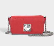 Le Copain Medium Tasche aus Ruby Ziegenleder