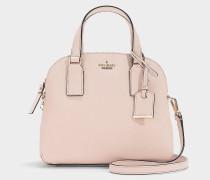 Kleine Handtasche Lottie Cameron Street aus Kalbsleder Saffiano in Rosa