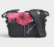 Mini Tasche floral mit Taschenklappe