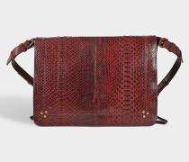 Tasche Albert aus Pythonleder