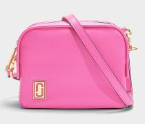 Handtasche The Mini Squeeze aus rosa Kalbsleder