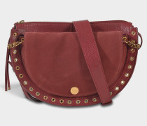 See by Chloé Kriss Medium Crossbody Tasche aus Sienna rotem Wildleder