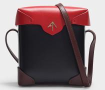 Handtasche Mini Pristine Combo aus mehrfarbigem Kalbsleder mit pflanzlicher Gerbung