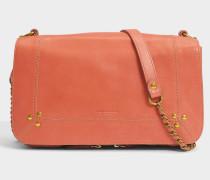 Bobi Tasche aus rosanem Lammleder