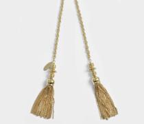 Anastasia Halskette aus goldfarbenem Messing