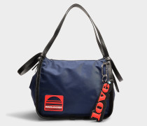 Shopper Sport aus Nylon in Blau