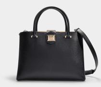 Marianne Bag un Black Grainy Calf Leather