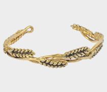 Wheat Mutli Cobs Bracelet aus 18K vergoldetem Messing
