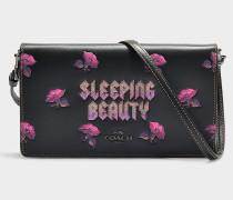 Clutch mit Schulterriemen Sleeping Beauty Foldover