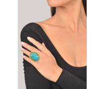 Ovaler Ring