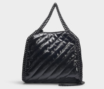 Mini Shopper Falabella aus schwarzem Synthetikmaterial