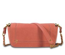 Bob Tasche aus rosanem Lammleder