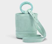 S801S Bonsai 15 Cm Tasche with Strap aus glattem Nubuk
