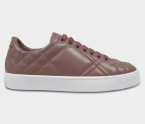 Westford Laser Spitze Up Sneaker aus elfenbeinfarbenem und rosanem Kalbsleder