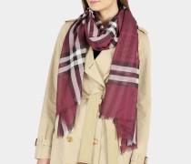 Schal aus Wolle mit Seide