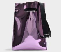 Handtasche aus rosa PVC