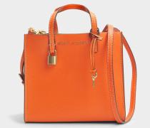 The Mini Grausd Tote Bag aus Metarin Kuhleder