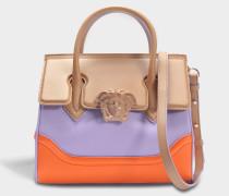 Palazzo Empire Small Bag aus mehrfarbigem Kalbsleder
