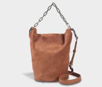 Attica Soft Dry Sack Tasche in Terracotta aus Kalbsleder