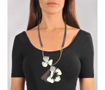 Blumen Halskette