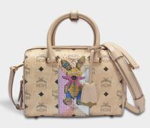 Boston Rabbit Small Bag in beige sandfarben
