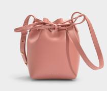 Bucket Bag Mini Mini Bucket aus Kalbsleder Blush
