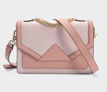 K/Klassik Shoulder Bag aus rosanem Saffiano