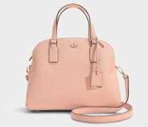 Handtasche Lottie Cameron Street aus rosa Kalbsleder
