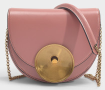 Tasche Monile Medium aus apricotfarbenem Kalbsleder