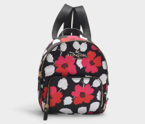 Watson Lane Small Hartley Backpack in Floral Nylon