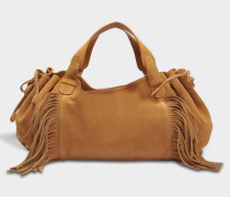 24 GD Fun Tasche aus braunem Leder