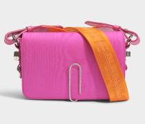 Mini Tasche mit Taschenklappe Moire