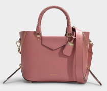 Tasche Messenger Blakely Medium aus rosa Kalbsleder
